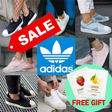 [ADIDAS] ★FREE GIFT★[ADIDAS] 2018 NEW Superstar Slip on/Casual Sneakers/100%AUTHENTIC/12 Types