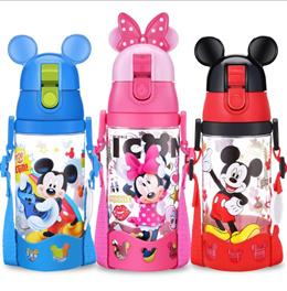 Children Kids Tritan Water Bottle BPA Free Cartoon Bottle Kindergarten School Bottle