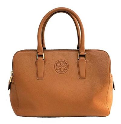 e3fae9bb18f (Tory Burch) Tory Burch Marion Triple-zip Satchel Leather Bag-: Rating: 0:  Free: S$1,274.61