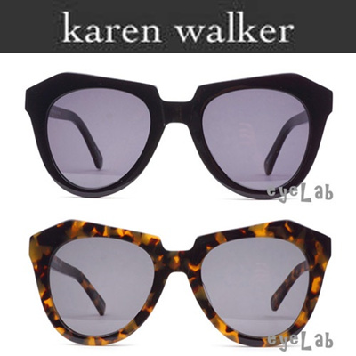 095ccb1e522c  EYELAB  KAREN WALKER NUMBER ONE Asian Fit Designer Glasses frames Sunglass  Free