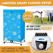 [SUPER SALE] LABOTON NON-FOLDABLE SMART CLOTHES DRYER * SILENT DRYER * GOOD REPLACEMENT FOR EXPENSIV
