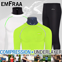 ★BEST SELLER★[[compression wear+rash guard]] /multi wear /compression wear /rashguard /mens /womens /underlayer full pants /armour gear /christmas gift