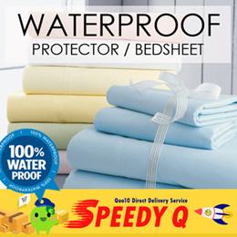 [SPEEDY Q] SOL HOME ® Waterproof bedsheet / Waterproof mattress protector.
