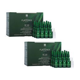 2Pcs RENE FURTERER RF 80 Concentrated Hair Loss Treatment 0.16oz x 12amps, 5ml x 12amps