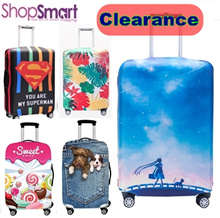 CLEARANCE SALE**Thick Elastic Luggage Cover|Left and Right Opening|Luggage Protector