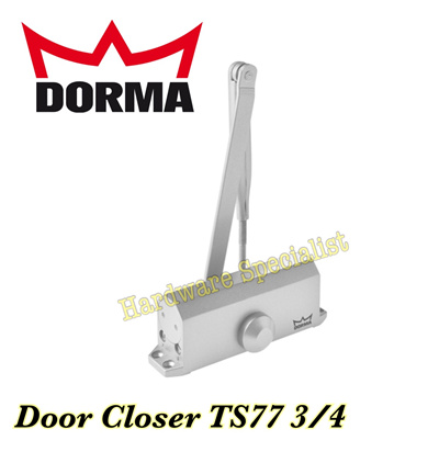 Qoo10 Dorma Door Closer Ts77 Size 3 4 Sliver