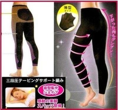 17dc3a11ad5 Japan Hot 3D Anti Cellulite Long Pants Thigh Waist Tummy Slimming Shaper