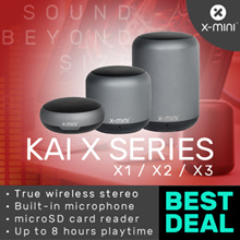 X-mini™ KAI Series Speaker / KAI X1 / KAI X2 / KAI X3 True Wireless Stereo