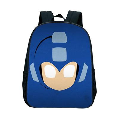 12 Inch Cartoon Mega Man School Backpack Children School Bags Kindergarten  Toddler Backpack a00750c6eaa20