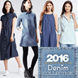 The-Fahrenheit Women Party Chambray All About Denim!!! 2016 Collection