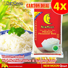 BEST SELLER! New Moon Thai Hom Mali Rice (4 x 5kg)