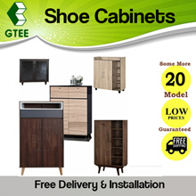 [BL] MODERN WOODEN SHOE CABINETS | 20 DIFFERENT SLEEK SCANDINAVIAN DESIGNS | FREE INSTALLATION
