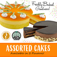 [BreadnBetter] Assorted Cakes 2 Flavours! (Mango Passion Cake / Banana Chocolate Cake) 1KG