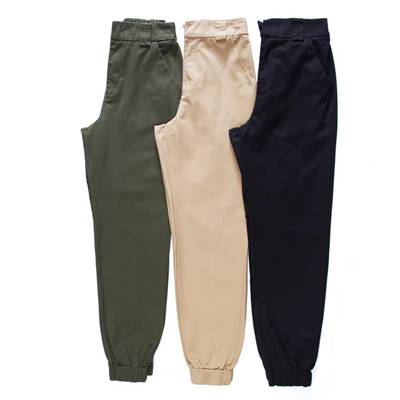 e21c2faf62 online Winter harajuku high waist cargo pants women elastic harem pants  zipper punk hip hop trousers