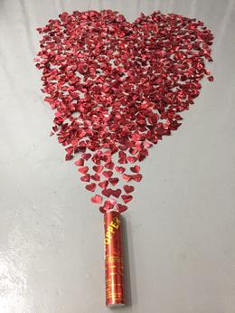 20cm Party Popper Romantic Parties Events Heart