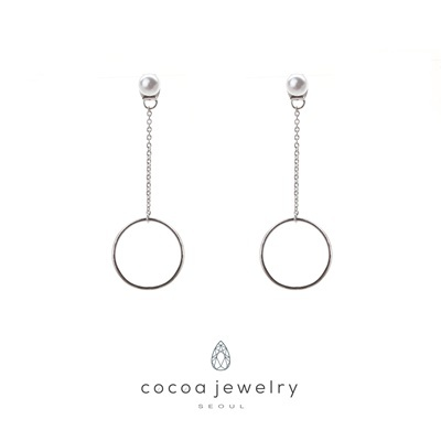 Cocoa Jewelry Anting Shining Circle 05-IYE-01.1