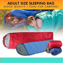 Ready stock!Adult Sleeping Bag.good for schoolcamping travelevent or gift