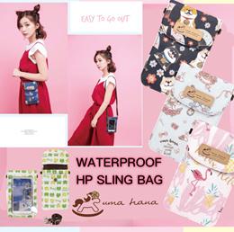 *NEW PRINTS*   Uma hana Handphone Pouch w Strap   Water-proof   UMA151