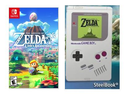 Nintendo Switch The Legend Of Zelda Links Awakening Std Edi With Steel Case Ready Stock