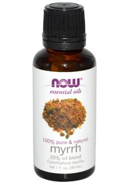 Now Foods Essential Oils Myrrh 20% Oil Blend 1 fl oz (30 ml)