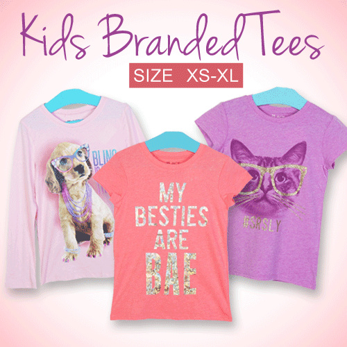 [Millenia ID] Branded Junior Girls 4-14 Years Deals for only Rp35.000 instead of Rp53.846