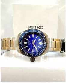SEIKO 4R35 PROSPEX SAVE THE OCEAN SAMURAI MENS AUTOMATIC DIVERS WATCH [Free Delivery]