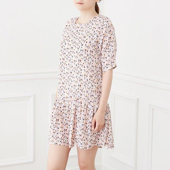 ・アレックス・ラウンド小売フラワープリントのワンピースBBOZ609A 面ワンピース/ 韓国ファッション