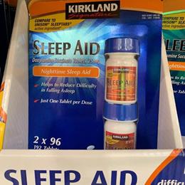 ★최저가★ 미국 커클랜드 시그니처 슬립에이드192정 Sleep Aid