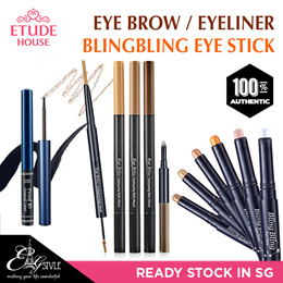 ✿ Etude House ✿ Bling Bling Eye Stick/Eyebrow Contouring Multi Pencil / Proof 10 Gelquid Liner