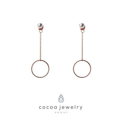 Cocoa Jewelry Anting Shining Circle 05-IYE-01.2