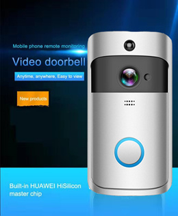 Wireless WiFi Smart Intercom Video Doorbell /166° Super Wide Angle/Night Vision /Two Way Audio