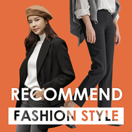 [CHICHERA] Recommend Fashion Style ★ Soft Knit + Slim-fit Slacks (Special Price + Free Shipping)