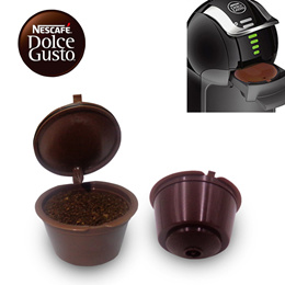 [SG Local Fast Delivery] Reusable Dolce Gusto Capsule ★ Refillable! Save Cost Use Your Own Coffee