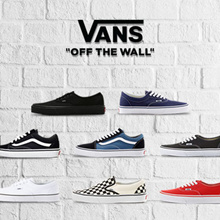[VANS]  New arrivals Flat price 3 Types shoes collection