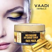 24 Carat Gold Face Pack - Vitamin-E  Lemon Peel