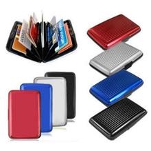 [SG] RFID Anti Scan Travel Wallet Hard Case Folder Wallet Credit Cards / ID RFID Holder Sleeve