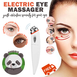 🐼 Portable Electric Eye Face Facial Massager Massage Eyebag Dark Circle | NO MORE PANDA EYE 🐼🐼