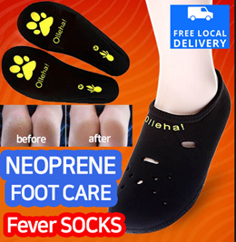Foot care Fever socks yoga gym Heel Protection and Exfoliating!