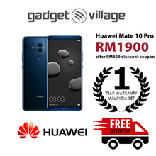 [RM1900 After Applied Digital Coupon] Huawei Mate 10 Pro 128gb/6gb - Official Huawei Malaysia Set