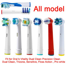4pcs Oral-B / Sonicare Toothbrush Refills Precision Clean Vitality Prohealth Replacement Refill