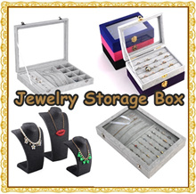★[Local Seller] 60 Over Models of Jewelry Storage Box/Jewelry Tray/Acrylic Display Jewelry Box