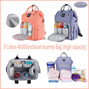 Fashion Multifunction Baby Nappy Bags Diaper Bag Mother Shoulder Bag Fashion Maternity Mummy Handbag