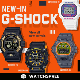 *APPLY SHOP COUPON* *New Arrivals* G-SHOCK NEW IN 2021 New Arrivals Watches Free Shipping!