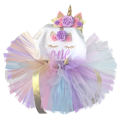 footwear half price timeless design Fancy Baby Girl Unicorn Dress Infant Princess Party Dresses Girl Birthday  Outfits Newborn Toddler Ch