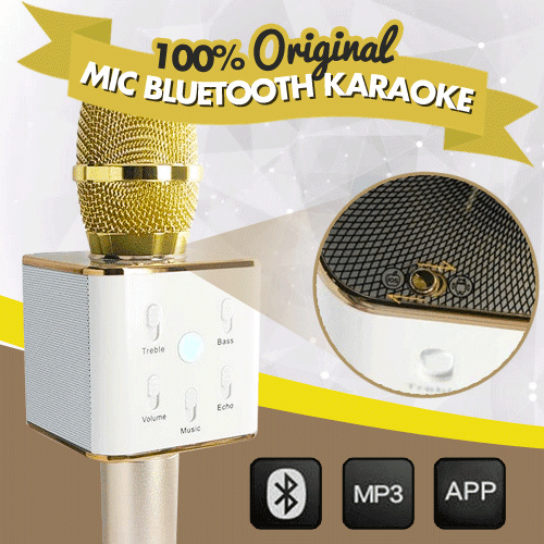 Buy Mic Bluetooth Karaoke TUXUN Q7 Deals for only Rp325.000 instead of Rp325.000