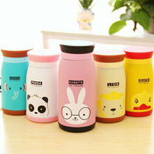 Thermos Animal Character 500ml Thermos Cute Kids Drinking Bottles