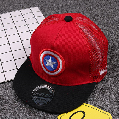 58a123097ff99 Children s baseball caps in summer spring the big girl hip-hop flat along  the