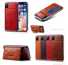 Oppo Reno Leather Cover Case + CardHolder 23915
