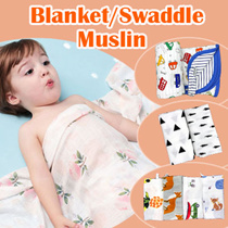 BLK1:Update 22/11/2017 Newborn /infant/blanket/Muslin/swaddle/bed sheet/baby/100% cotton/towel