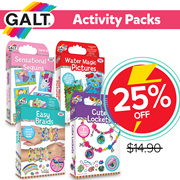 25% OFF!! BUY NOW!【Galt】Activity Packs (Charm Craft / Fab Hair / More...)